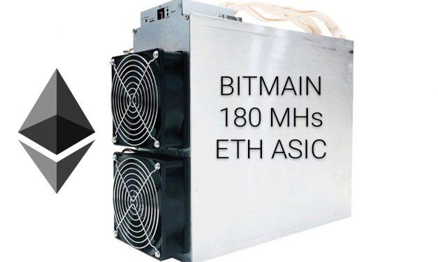 Ethereum ASIC Miner Από Την Bitmain
