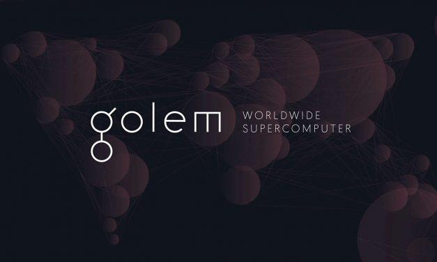 Το blockchain computing δίχτυο Golem βγαίνει live.